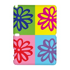 Flower Samsung Galaxy Note 10 1 (p600) Hardshell Case by Siebenhuehner