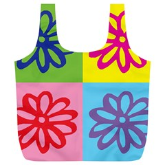 Flower Reusable Bag (xl) by Siebenhuehner