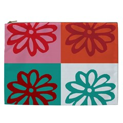 Flower Cosmetic Bag (xxl) by Siebenhuehner