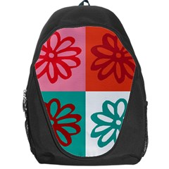 Flower Backpack Bag by Siebenhuehner
