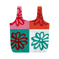 Flower Reusable Bag (m) by Siebenhuehner