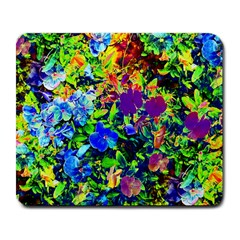 The Neon Garden Large Mouse Pad (rectangle) by rokinronda