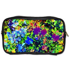 The Neon Garden Travel Toiletry Bag (two Sides) by rokinronda