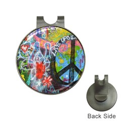 Prague Graffiti Hat Clip With Golf Ball Marker by StuffOrSomething