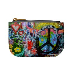 Prague Graffiti Coin Change Purse by StuffOrSomething