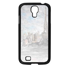 Eiffel Tower Paris Samsung Galaxy S4 I9500/ I9505 Case (black) by rokinronda