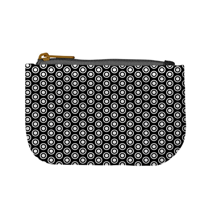 Groovy Circles Coin Change Purse