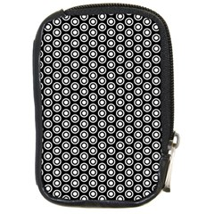 Groovy Circles Compact Camera Leather Case by StuffOrSomething