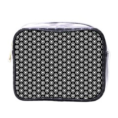 Groovy Circles Mini Travel Toiletry Bag (one Side) by StuffOrSomething