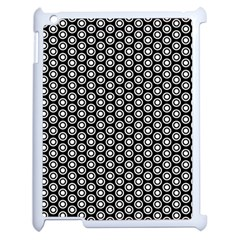 Groovy Circles Apple Ipad 2 Case (white) by StuffOrSomething