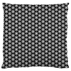 Groovy Circles Large Cushion Case (single Sided)  by StuffOrSomething