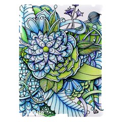 Peaceful Flower Garden Apple Ipad 3/4 Hardshell Case (compatible With Smart Cover) by Zandiepants