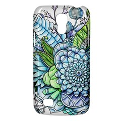 Peaceful Flower Garden 2 Samsung Galaxy S4 Mini (gt I9190) Hardshell Case  by Zandiepants
