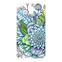 Peaceful Flower Garden 2 Samsung Galaxy Note 3 N9005 Hardshell Back Case by Zandiepants
