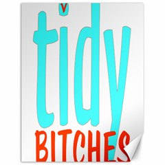 Tidy Bitcheslarge1 Fw Canvas 12  X 16  (unframed) by tidybitches