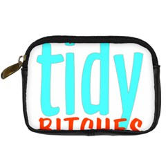 Tidy Bitcheslarge1 Fw Digital Camera Leather Case by tidybitches