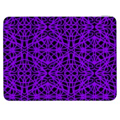 Black And Purple String Art Samsung Galaxy Tab 7  P1000 Flip Case by Khoncepts