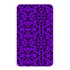 Black And Purple String Art Memory Card Reader (rectangular)
