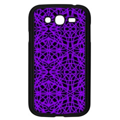 Black And Purple String Art Samsung Galaxy Grand Duos I9082 Case (black)