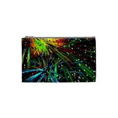 Exploding Fireworks Cosmetic Bag (small) by StuffOrSomething