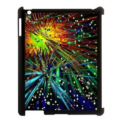 Exploding Fireworks Apple Ipad 3/4 Case (black) by StuffOrSomething