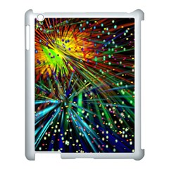 Exploding Fireworks Apple Ipad 3/4 Case (white) by StuffOrSomething