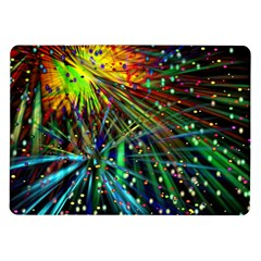 Exploding Fireworks Samsung Galaxy Tab 10 1  P7500 Flip Case by StuffOrSomething