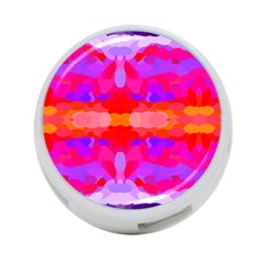 Purple, Pink And Orange Tie Dye  By Celeste Khoncepts Com 4-port Usb Hub (one Side) by Khoncepts