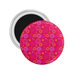 Psychedelic Kaleidoscope 2 25  Button Magnet by StuffOrSomething