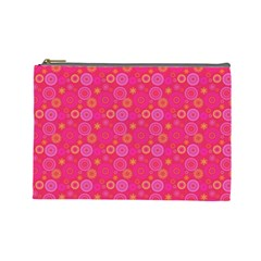 Psychedelic Kaleidoscope Cosmetic Bag (large) by StuffOrSomething