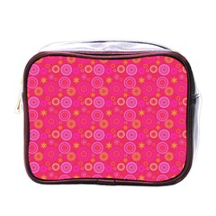 Psychedelic Kaleidoscope Mini Travel Toiletry Bag (one Side) by StuffOrSomething