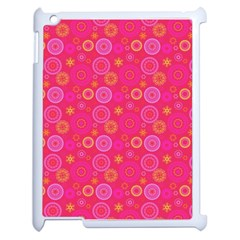 Psychedelic Kaleidoscope Apple Ipad 2 Case (white) by StuffOrSomething