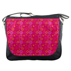 Psychedelic Kaleidoscope Messenger Bag by StuffOrSomething