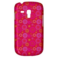 Psychedelic Kaleidoscope Samsung Galaxy S3 Mini I8190 Hardshell Case by StuffOrSomething