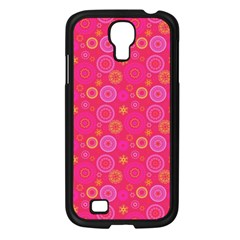 Psychedelic Kaleidoscope Samsung Galaxy S4 I9500/ I9505 Case (black) by StuffOrSomething