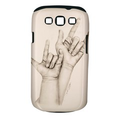 I Love You Samsung Galaxy S Iii Classic Hardshell Case (pc+silicone) by TonyaButcher