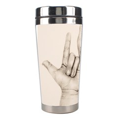 I Love You Stainless Steel Travel Tumbler by TonyaButcher