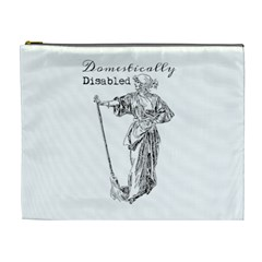 Domestically Disabled Cosmetic Bag (xl) by StuffOrSomething