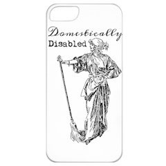 Domestically Disabled Apple Iphone 5 Classic Hardshell Case by StuffOrSomething