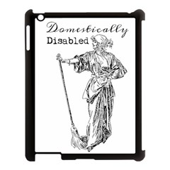 Domestically Disabled Apple Ipad 3/4 Case (black) by StuffOrSomething