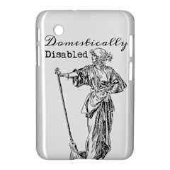 Domestically Disabled Samsung Galaxy Tab 2 (7 ) P3100 Hardshell Case  by StuffOrSomething