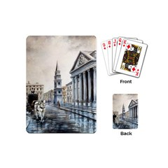 Old London Town Playing Cards (mini) by ArtByThree