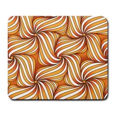 Sunny Organic Pinwheel Large Mouse Pad (rectangle)