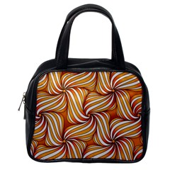 Sunny Organic Pinwheel Classic Handbag (one Side) by Zandiepants
