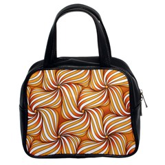 Sunny Organic Pinwheel Classic Handbag (two Sides) by Zandiepants