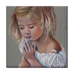 Prayinggirl Ceramic Tile