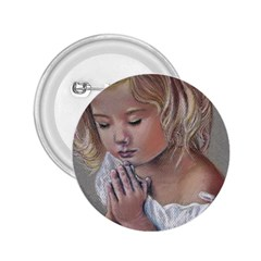 Prayinggirl 2.25  Button
