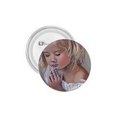 Prayinggirl 1.75  Button