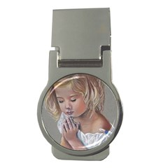 Prayinggirl Money Clip (Round)