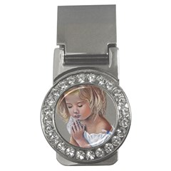 Prayinggirl Money Clip (CZ)